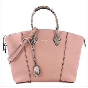 Louis Vuitton LockIt Pink Python PM